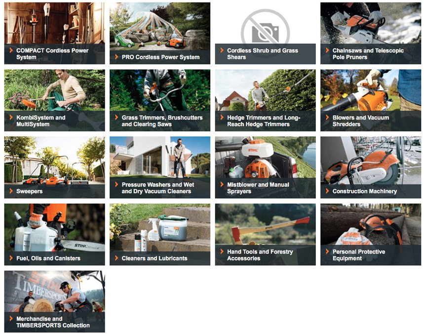 Armstrongs Stihl Page